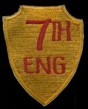 USMC 7th Marine Engineering BN Patch HM