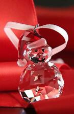 SWAROVSKI CHRISTMAS ORNAMENT - ROCKING SNOWMAN 5189475 MINT BOXED RETIRED RARE