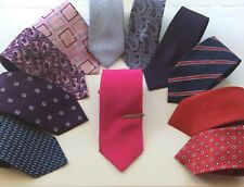 Mens collection of assorted ties all in good clean condition.