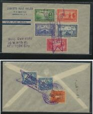 Nicaragua nice franking Will Rogers stamps on cover Ms0131