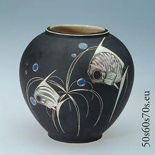 Keramik Vase Arno Kiechle Modellnummer 2007D H=11,8 cm 50s Design - WGP #291