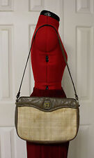 ETIENNE AIGNER Vintage Straw Handbag Purse