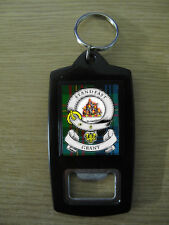 GRANT CLAN BOTTLE OPENER KEY RING (IMAGE DISTORTED TO PREVENT WEB THEFT)