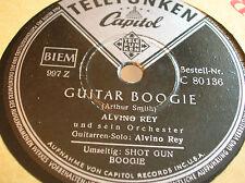78 RPM -ALVINO REY/ TENESSEE ERNIE - Guitar boogie- TELEFUNKEN CAPITOL 80136
