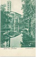 D POTSDAM 1910 selt. Gruß-aus-AK Friedenskirche