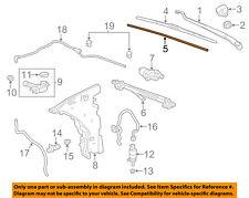 GM OEM Wiper Washer-Windshield-Wiper Blade Insert Left 22985978