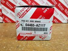 Rav4 2006-13 Front Genuine Toyota Oem Ceramic Brake Pads w/o Shims 04465-Az117