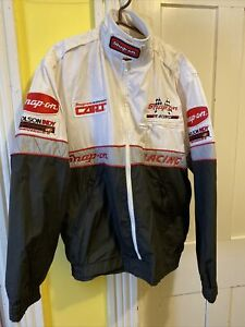 Vintage Snap-on Racing Coat Mens XL Tall Patch Molson INDY Cars Tools Sponsor