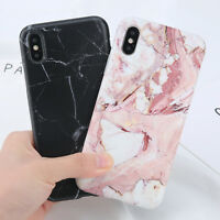 Shockproof Marble Pattern Case Cover For Apple iPhone X XR XS MAX 8 6s 6 7 Plus