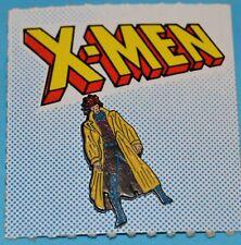 X-MEN GAMBIT METAL PIN FIGURE COLLECTIBLE MARVEL COMIC ARGENTINA RARE EDITION