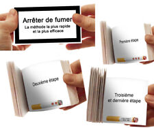 Arrêter de fumer - Méthode rapide et efficace + animation flipbook cigarette