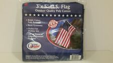 New Olympus U.S. American Flag 3' X 5' Stars And Stripes Outdoor Indoor