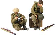 Britains Mundo Guerra 1 23072 1916-1917 Británico Infantería Sentado MIB