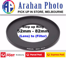 Step Up Ring 52-82mm  52mm Lens to 82mm filter