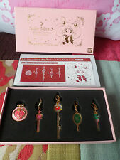 *Sailor Moon 20th Anniversary-Sailor Moon Premium Bandai Pins & Charms set -RARE