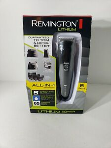 REMINGTON PG6025 GROOMING TRIMMER KIT LITHIUM POWERED MORE POWER MORE TORQUE