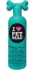 Shampooings orange pour chien