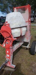 Tow-able Concrete Mixer