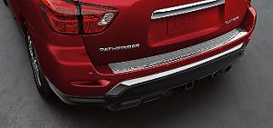 OEM NEW Chrome Rear Hatch Bumper Protector Scuff Pad 17-20 Pathfinder T99B19PJ0A