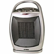 Optimus H-7247 Portable Oscillating Ceramic Heater with Thermostat Space Heaters
