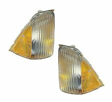 PAIR Corner Lights - Driver & Passenger Side - Fits 1992-1997 Ford Aerostar