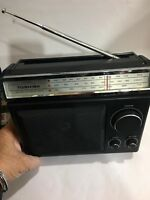 VINTAGE RADIO TOSHIBA 3 BANDS  MW(-AM)-LW-FM 1950s-1980S + Mains Wire