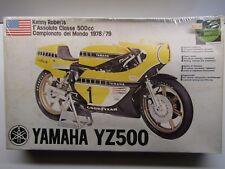 Protar Vintage 1/9 Scale Yamaha YZ500 Kenny Roberts #1 '78/'79 - New - Kit # 176