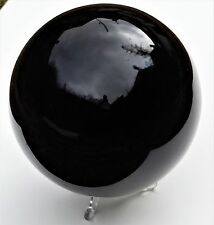 Obsidian Black Crystal Sphere Ball Mexico Great Gift Large 5.5 inch 2.2 KG