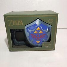 Legend Of Zelda Shield Mug Collectors Edition Nintendo Paladone Coffee Cup NEW