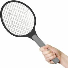 BugzOff Electric Fly Swatter Racket Best Zapper for Flies Swat Insect, Wasp, Bug
