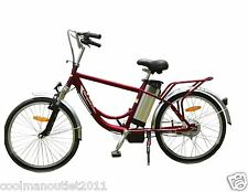 250W Lithium Battery Electric Bike Bicycle Navigator II 24in with Steel Frame