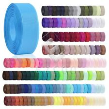 "10 Meters 1/4""6mm Grosgrain Ribbon Craft Hair Bows Wedding Party Supply HCRN0025"