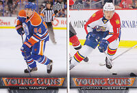 13-14 Upper Deck Nail Yakupov Young Guns Rookie Oilers 2013