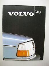 Volvo 240 244 245 incl Turbo brochure Prospekt Dutch text 26 pages 1982