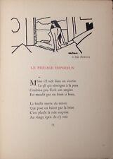 EO 1911 ALBERT GLEIZES  illustre R.Allard : Le bocage amoureux (tiré à 190 ex)