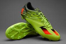 Adidas Mens Messi 15.2 FG/AG Soccer Cleats Sz 13 Shoes Semi Solar Red Core Black