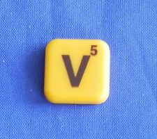 Words With Friends Single Magnet V Tile Replacement Game Parts Pieces Craft
