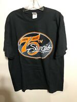 Sturgis Motorcycle Rally 75th Anniversary Black Graphic T-Shirt XL