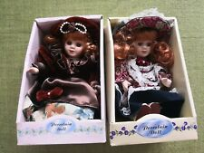 Highland Genuine Hand Painted Porcelain Doll