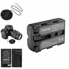 NP-FM500H Charger+Battery+Cap+Keeper For Sony A850 A550