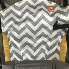 Tula Baby Carrier Toddler Print Grey Yellow Used