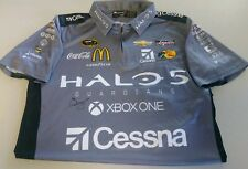 Jamie McMurray Signed Autographed Halo 5 XBOX One Race Used Crew Shirt Rare