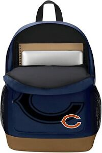 """NFL Chicago Bears """"Playmaker"""" Backpack, 18"""" x 5"""" x 13"""""""