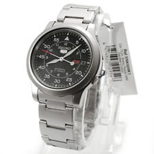 Seiko Analog business 5 Automatic Silver Mens SNK809K1