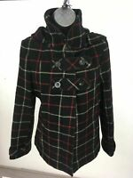 WOMENS MARKS & SPENCER BLACK WOOL MIX TAILORED JACKET SIZE UK 14