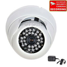 Security Camera w/ SONY Effio CCD 600TVL IR Night Vision Outdoor Wide Angle wqs