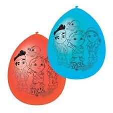 """6 x Jake & the Neverland Pirates Latex balloons, 9"""" diameter"""
