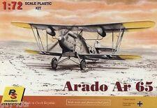 Avion de reconnaissance Allemand ARADO Ar 65 - KIT RS MODELS 1/72 - N° 92017