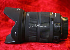 Nice Sigma 18-200mm 3.5-6.3 DC OS Macro Zoom Lens For Canon T2i T3i T4i 30D 60D