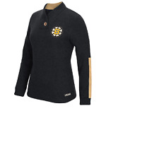 NHL Boston Bruins Shawl Collar Sweatshirt New Womens MEDIUM